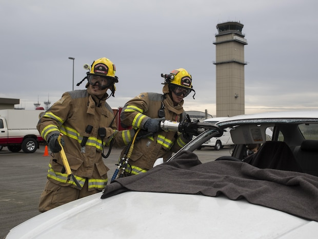 Awareness for Fire Prevention Week flares across MCAS Iwakuni