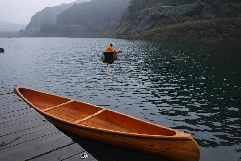Outdoor Recreation takes Airmen canoeing