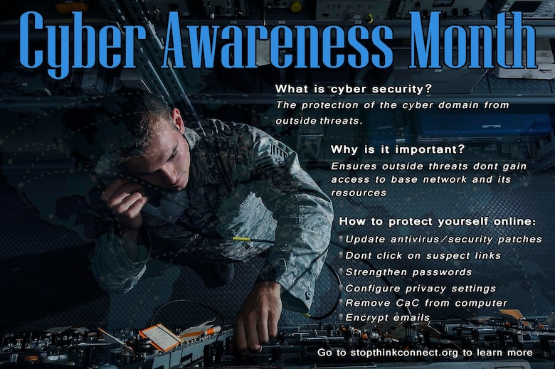 Cyber security: Every Airman's responsibility > Little Rock