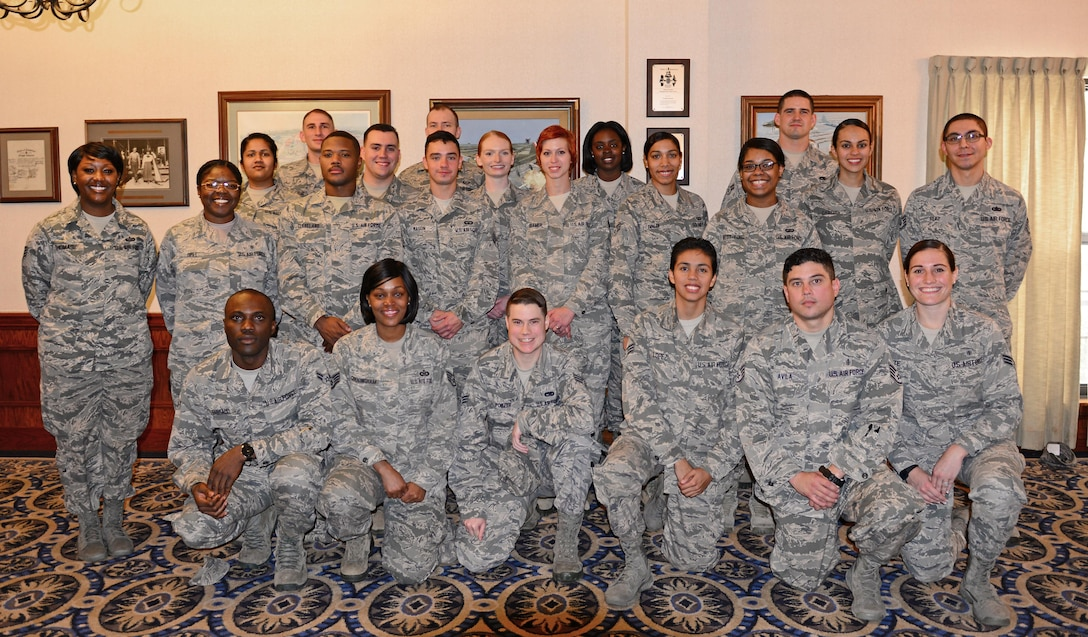 Over twenty Airmen from around Air Education and Training Command and the Air Force presented their stories of resiliency and their ideas about how to celebrate life at the annual Senior Leaders Conference at Joint Base San Antonio-Randolph, Texas Oct. 19, 2017. The presentations were the culmination of several days of discussions during the conference in which Airmen were divided into three groups and asked to get to know one another by telling their stories and drawing from one another's experiences. (U.S. Air Force photo by Staff Sgt. Chip Pons)