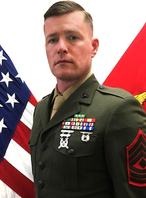 First Sergeant, Golf Company, 2nd Battalion, 24th Marine Regiment