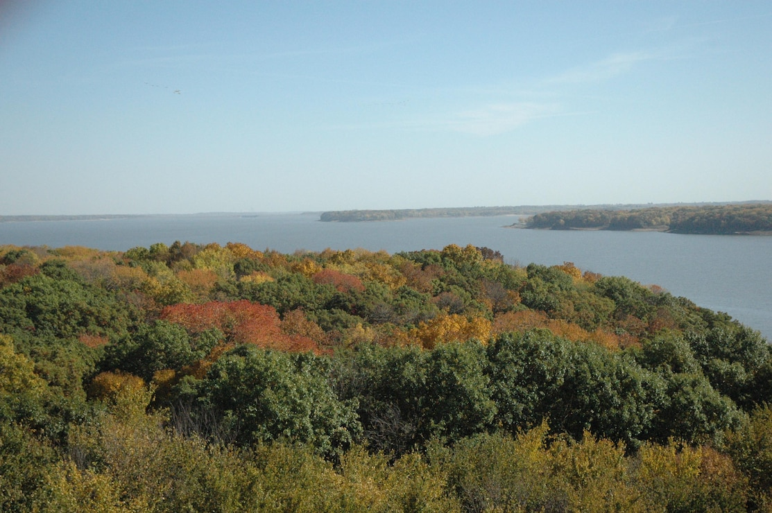 View of Fall Foliage from Cordova Tower