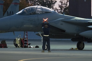 104th Fighter Wing Critical Night Flying Training