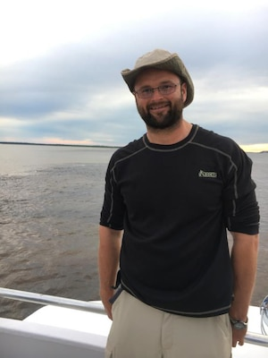 Alex Neal from the Huntington District's Engineering and Construction Division conducted a reconnaissance investigation of the Madeira River Navigation Channel as part of the USACE River Engineering Committee.