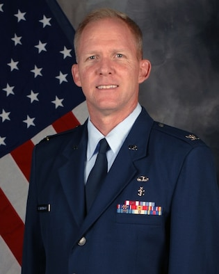 Photo of Colonel Darrin D. Lambrigger, the Mobilization Assistant to the Command Surgeon, Headquarters Air Combat Command.
