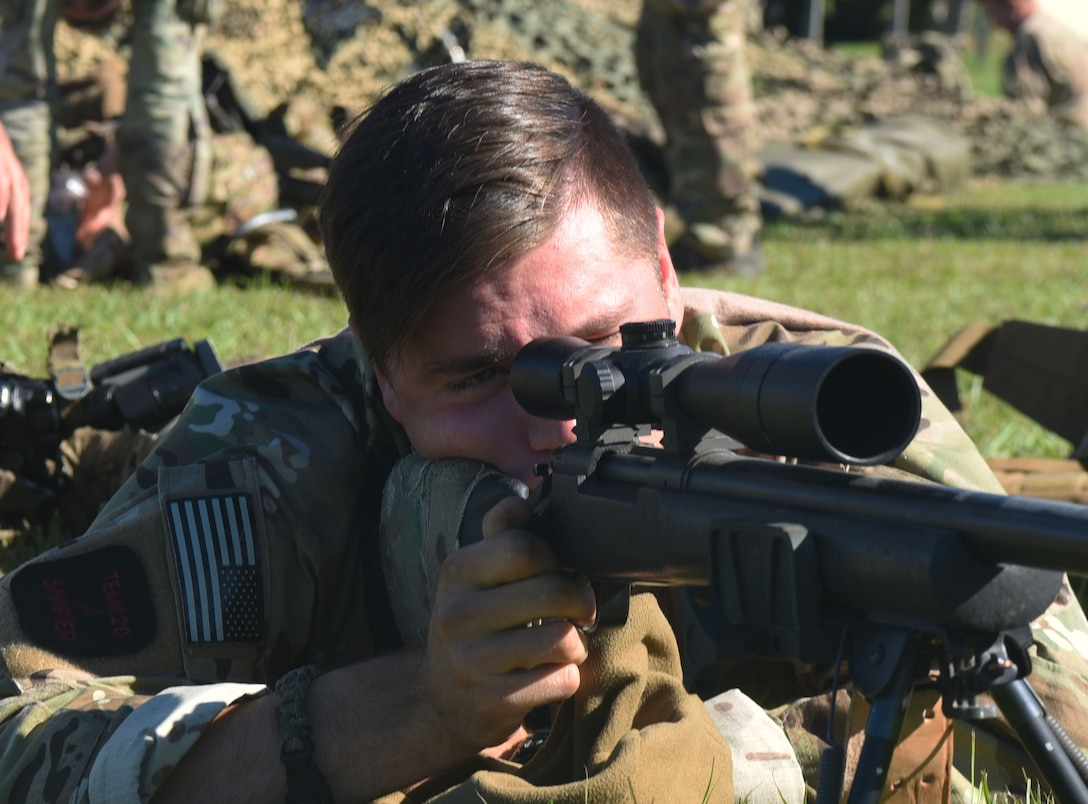 U.S. Air Force security forces members participated in the 17th Annual International Sniper Competition Oct.