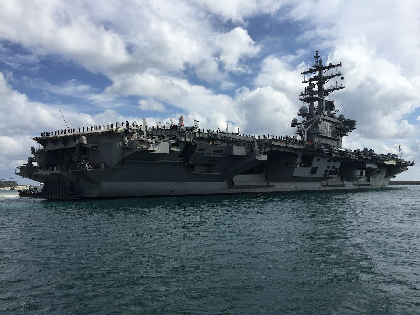 Ronald Reagan Carrier Strike Group visits South Korea