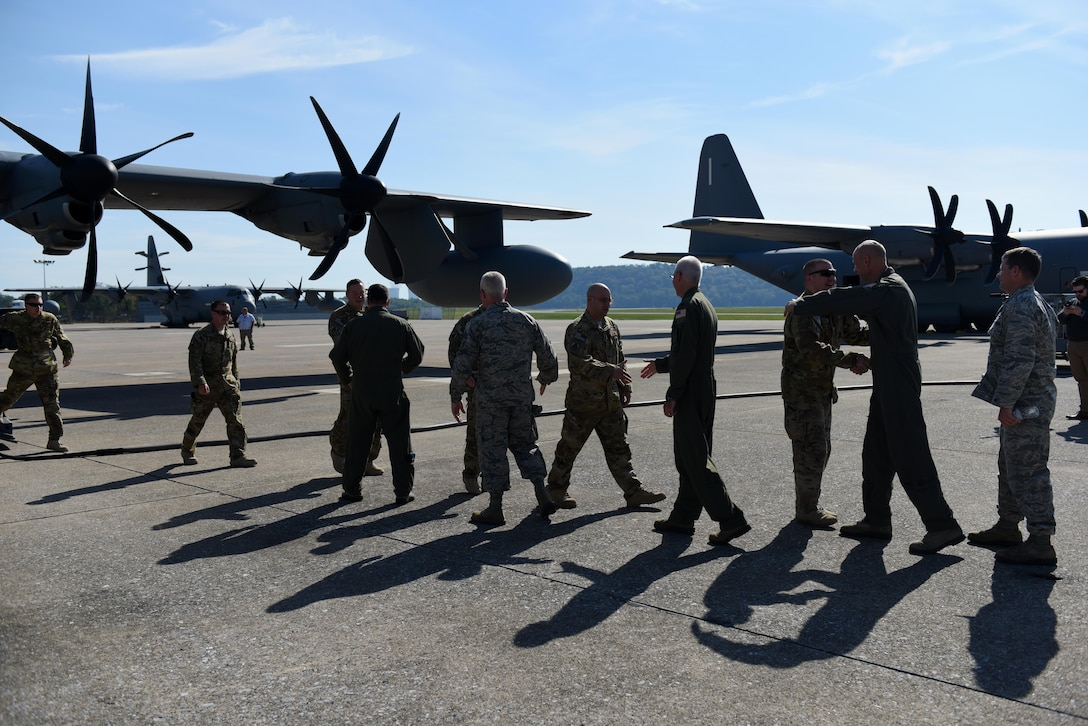 Airmen from the 193rd Special Operations Wing return home from deployment