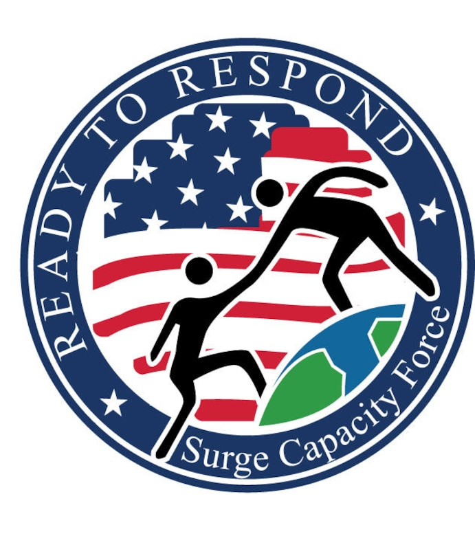 In the aftermath of a catastrophic event, the Department of Homeland Security turns to its Surge Capacity Force, a cadre of federal employee heroes who help affected communities by supporting the Federal Emergency Management Agency's urgent response and recovery efforts. The SCF is made up of Federal employees from every department or agency in the federal government. (Courtesy graphic)