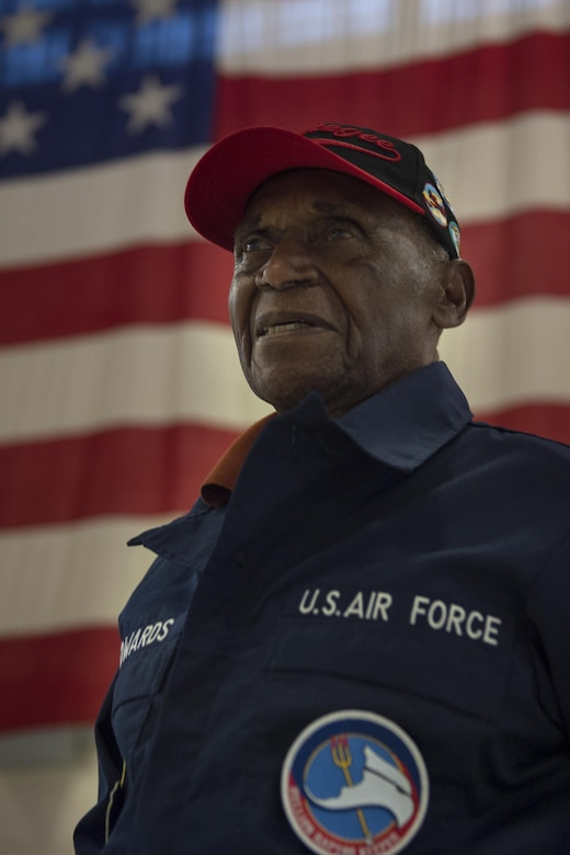 The 617th Bombardment Squadron was one of four Tuskegee Airmen bomber squadrons during WWII that made up the 477th Bombardment Group. In 2007, the 477th Bombardment Group became the 477th Fighter Group, bringing with it the legacy of Tuskegee airmen to Alaska.