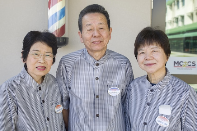 Japanese barbers cut through time