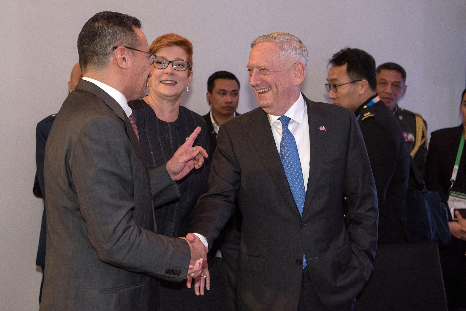 Leaders speak after meeting
