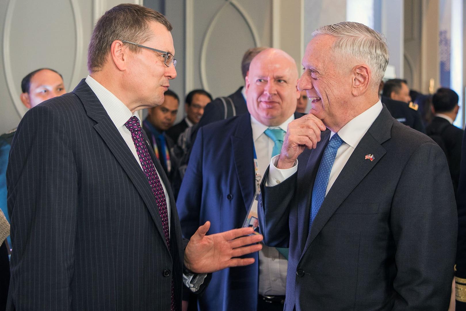 Defense leaders speak at ASEAN.