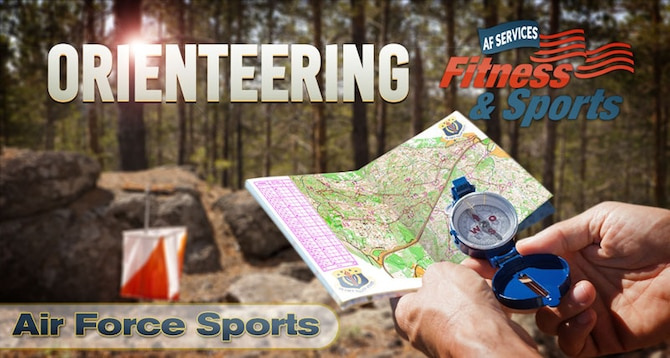 Air Force Orienteering. (U.S. Air Force graphic by Greg Hand).