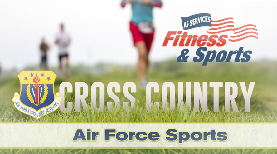 Cross Country. (U.S. Air Force graphic by Greg Hand).