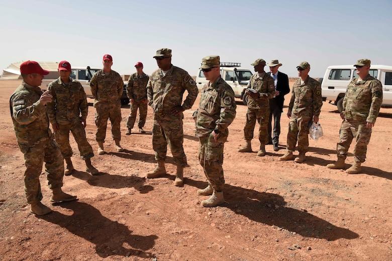 3rd AF commander visits Nigerien Air Base 201