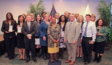 The U.S. Army Regional Environmental and Energy Office – Southern and U.S. Environmental Protection Agency Region 4 team received EPA Bronze Medals on October 19, 2017, for their exceptional efforts in organizing and hosting an environmental workshop for the U.S. EPA and Department of Defense military installations within the southeast region.