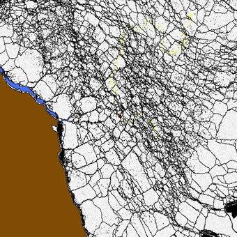 Predicting the Arctic sea ice, piece by piece