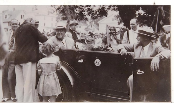 President Franklin Delano Roosevelt toured Southern Tier communities in New York that were impacted by the powerful 1935 floods. That 1935 flood, and its impacts to Binghamton and other communities, was one of the major floods of the time that played a large role in the ultimate crafting and passing of the Flood Control Act of 1936 that authorized the construction of Whitney Point Dam along with hundreds of other flood risk management works across the country.
