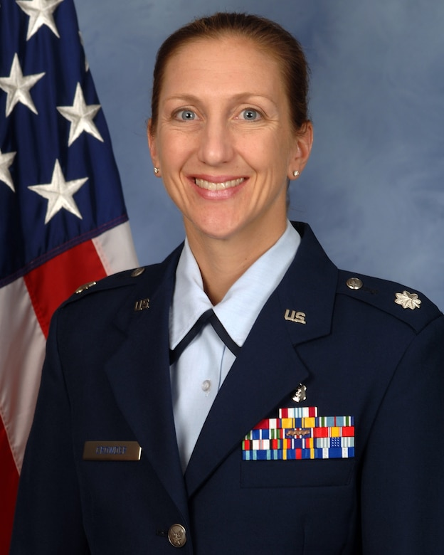 Lt. Col. Katie Crowder, 15th Medical Group's Chief of Medical Staff, is the 2017 Association of Military Surgeons of Uniformed Services Physician of the Year.