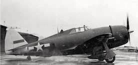 HOPD-P-47D Serial Number 42-735332 of the 348th FG, New Guinea, 1943. Kearby's Thunderbolts: The 348th Fighter Group in World War II.  Schiffer Publishing. ISBN: 0764302485 (Photo by USAF Historical Research Agency, Maxwell AFB, Alabama via Steaaway, John C. (1997))