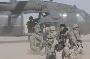Air operations drill in Kuwait