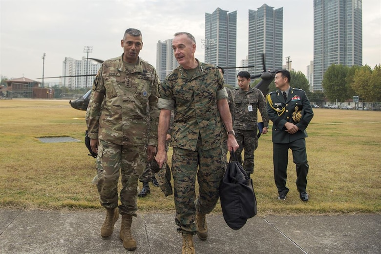 Dunford Charts Alliance Progress in South Korea