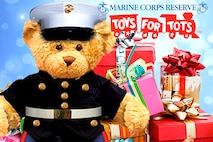 Grissom Marines are getting into the Christmas spirit and giving back to the community this season by setting up Toys for Tots donation bins in the local area.