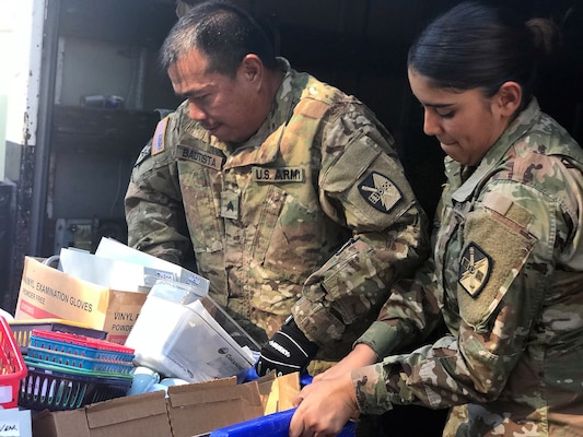 Cal Guard helps home for developmentally disabled residents