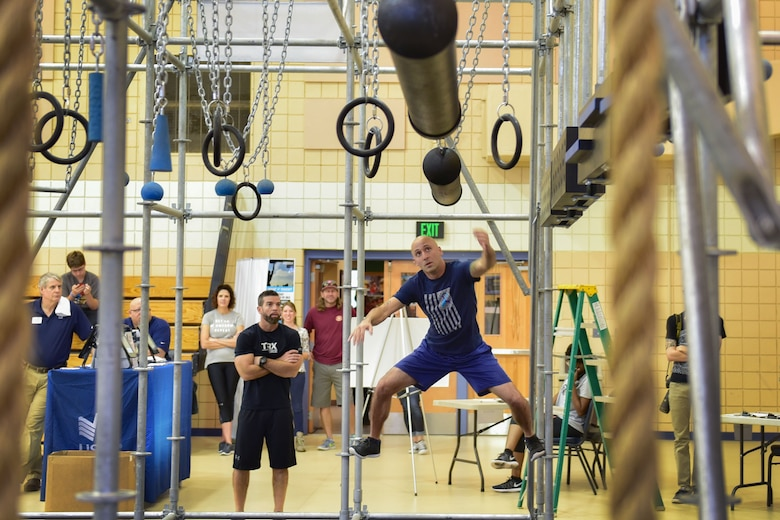 Airman competes in fitness challenge