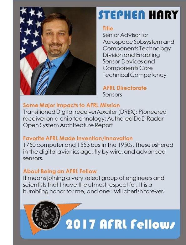 AFRL 2017 Fellow