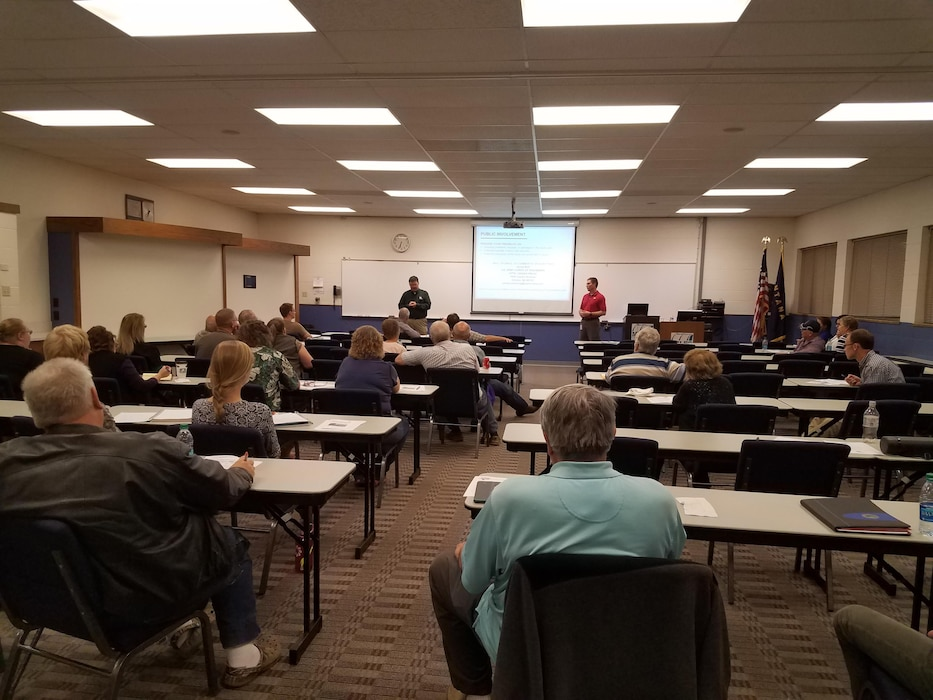 The U.S. Army Corps of Engineers Omaha District held a public meeting on October 17, 2017 in Miles City, Montana to discuss the initiation of a flood risk management feasibility study.