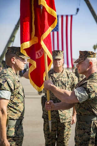 Change of command photo