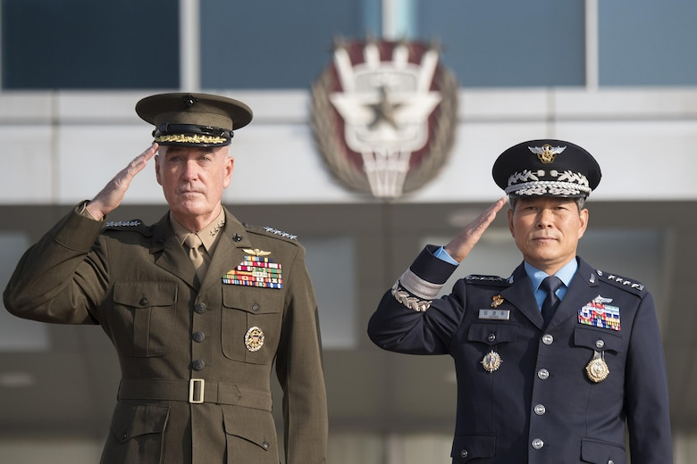 CJCS, ROK Chairman Meet, Discuss Stronger Alliance, Military Readiness