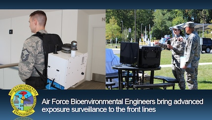 Air Force Bioenvironmental Engineers bring advanced exposure surveillance to the front lines