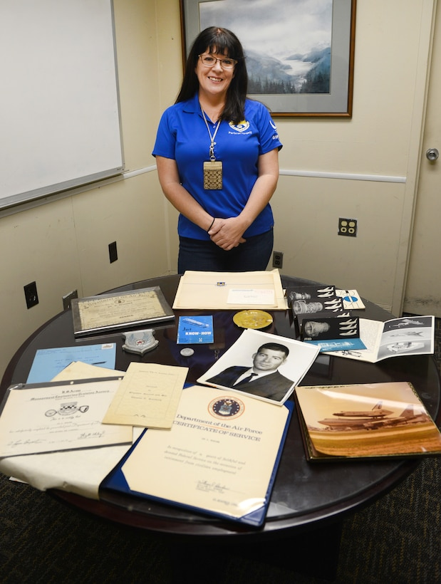 Janna Newcomb, an item manager with the 421st Supply Chain Management Squadron, recently discovered a wealth of Tinker history while renovating her parent's home in Seminole County.