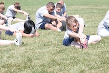 Henley HS JrROTC Cadets Physical Training