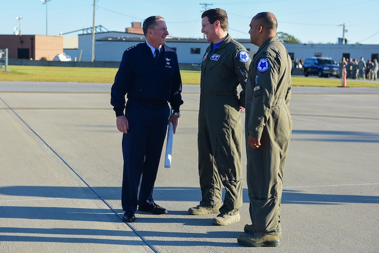Air Force Chief of Staff and elected officials visit McEntire Joint National Guard Base