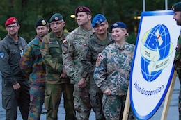 Civil Affairs Brigade soldiers participate in Bundeswehr's Joint Cooperation 2017