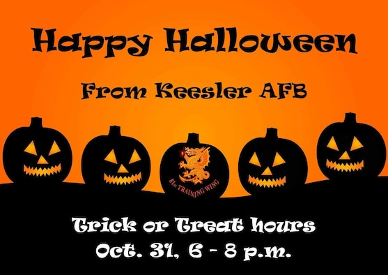 Happy Halloween from Keesler Air Force Base!