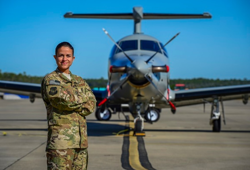 Air Combat Command's 2017 recipient of the Brig. Gen. Wilma Vaught Visionary Leadership Award, officer category, is Capt. Rosie, assistant director of operations, 25th Intelligence Squadron.