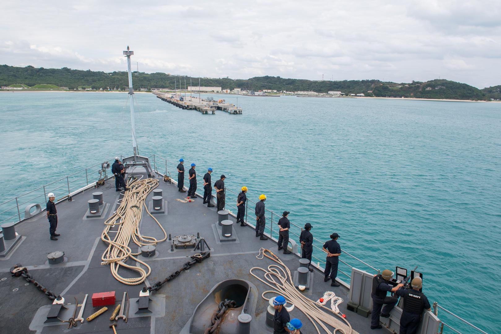 USS Ashland departs Okinawa, begins Blue Chromite