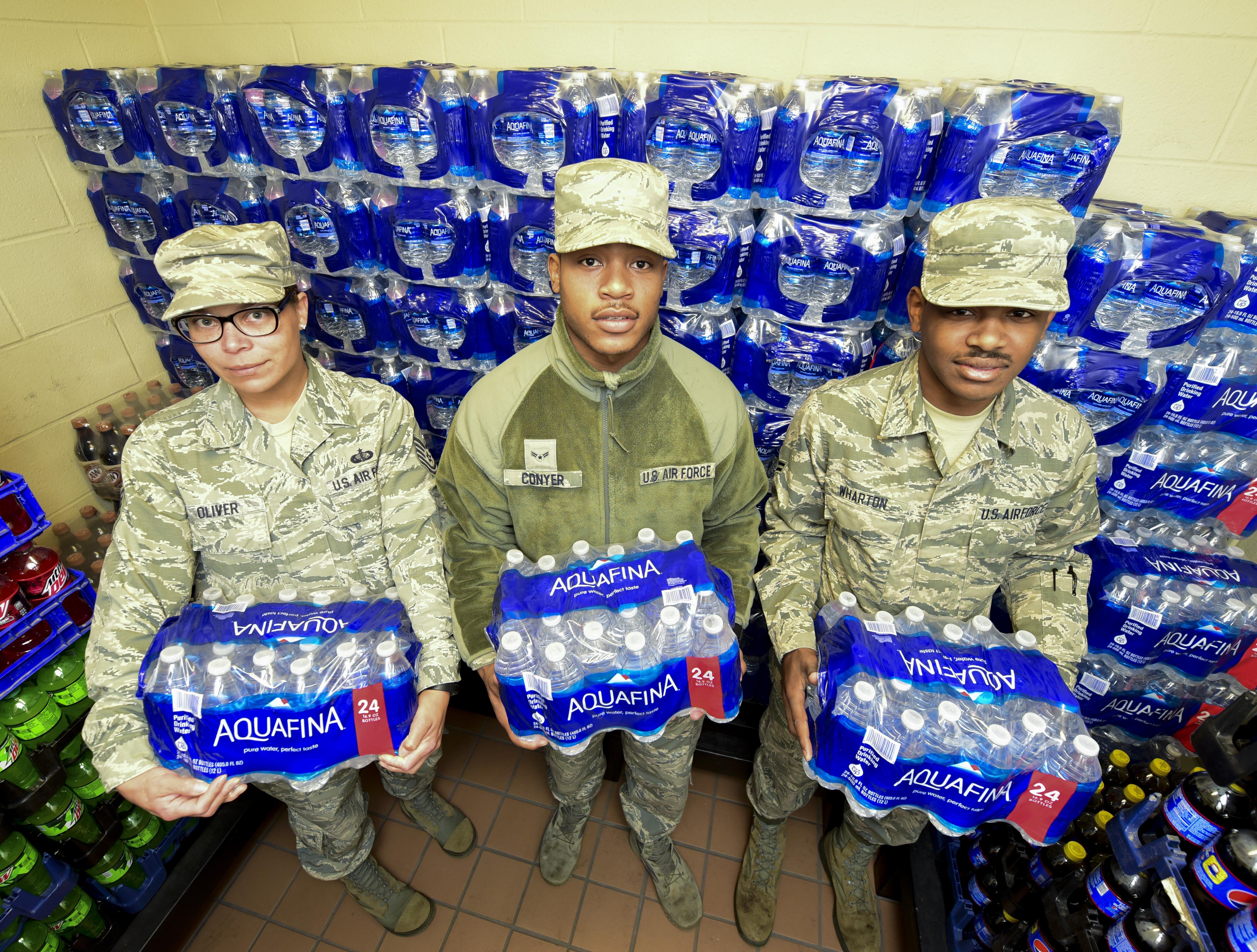 waterline break tests team response cohesion ellsworth air force