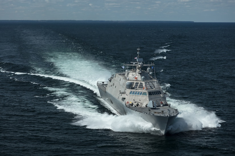 Image: The future USS Little Rock (LCS 9)