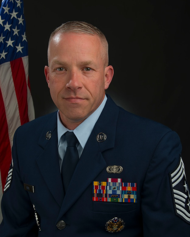 Official Photo of Command Chief Master Sgt. Kevin Cecil