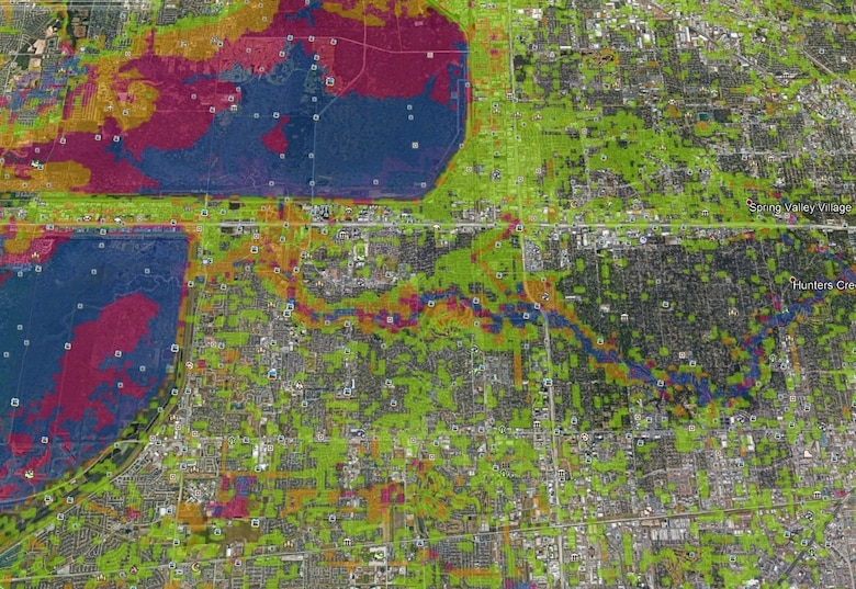 Corps of Engineers researchers use supercomputer to model Harvey flooding