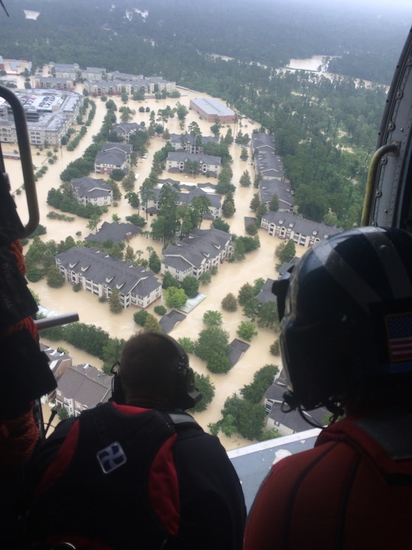 Kentucky Air Guardsmen conduct Hurricane Harvey rescue operations in Texas