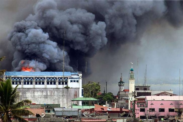 In June 2017, the Philippine Air Force conducted airstrikes against militant groups in Marawi City.