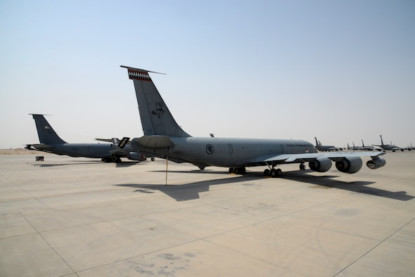 A Republic of Singapore Air Force KC-135R