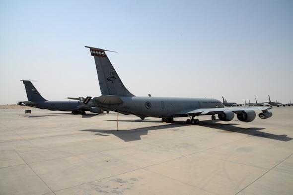 A Republic of Singapore Air Force KC-135R